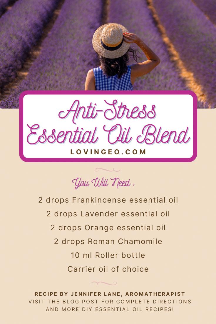 Anti-Stress Essential Oil Recipe