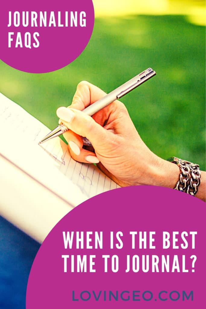 When is the Best Time to Journal pinterest