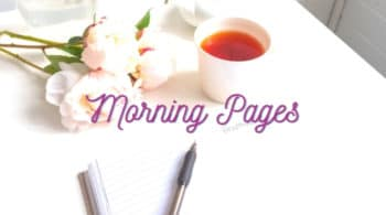 what are morning pages